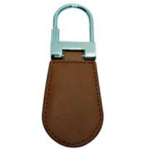 Genuine Leather RFID Keychain