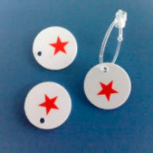 Jewelry PVC Tags Maka