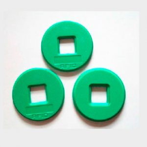 Perforated ABS tags | RFID laundry Tags( 70 ° C)