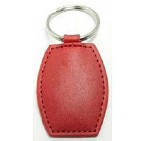 RFID keyring in synthetic leather