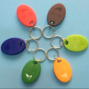 waterproof abs key ring